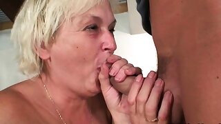 Cock-hungry blonde mother in law taboo sex