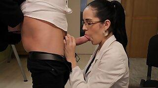 VIP4K. Stranger, who works in loan office, satisfies girl
