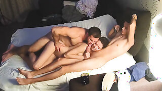 Bi Sex Muscle Man & Friends – Hard Homemade Trinity
