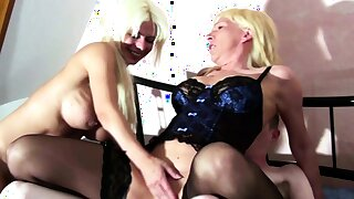 Virgin Boy with Monster Cock in FFM 3Some with German Mature