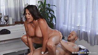 Massaging My Friend's Oiled Up Mom with Chunky Ass - Julianna Vega, Duncan Saint