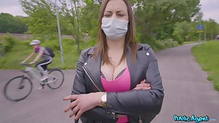 Public Legate - Face Mask Fucking With Fat Boobs 1 - Erik Everhard