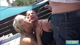 EVA ENGEL: Unusual Summer Piss Party