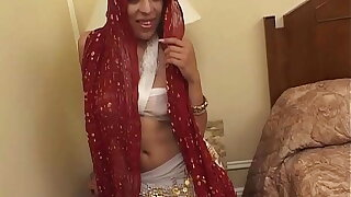 Husband is at a meeting, indian wife swashbuckler him with 2 broad in the beam cocks