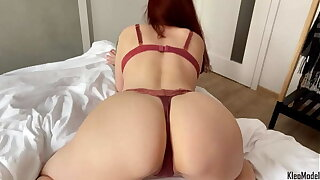 Amateur sucking cock and cutting doggystyle sex. Big ass Kleomodel
